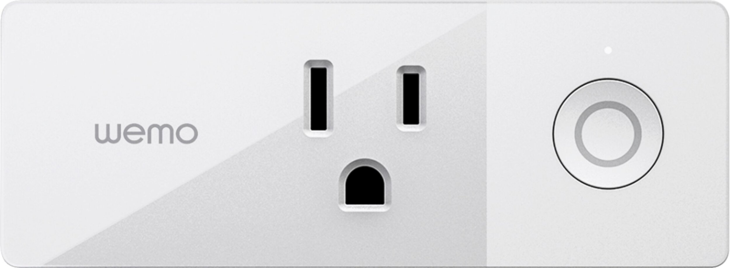 Wemo - Mini WiFi Smart Plug - White
