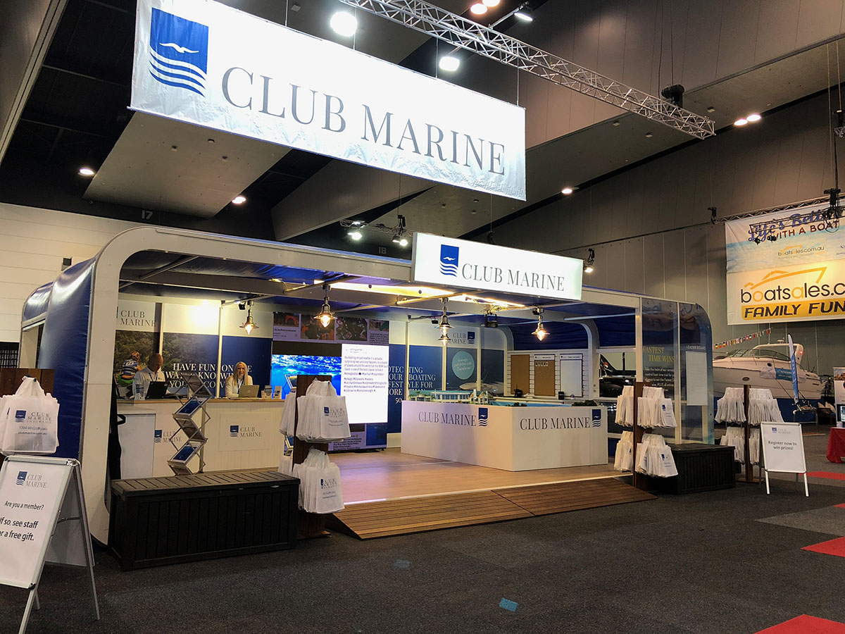 Boat shows 2018 - Airclad XPO 10 - Gold Coast, Melbourne, Sydney, Perth, Adelaide.