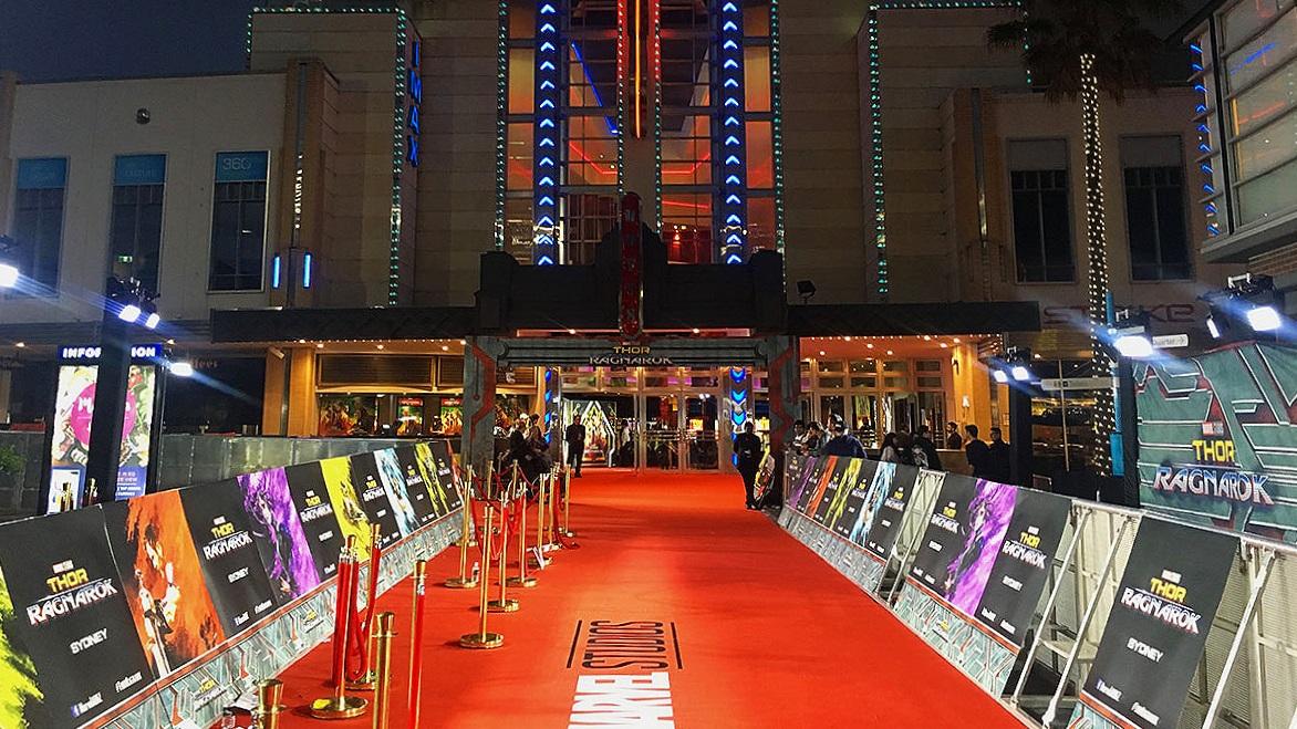 Thor Ragnarok - Red carpet event