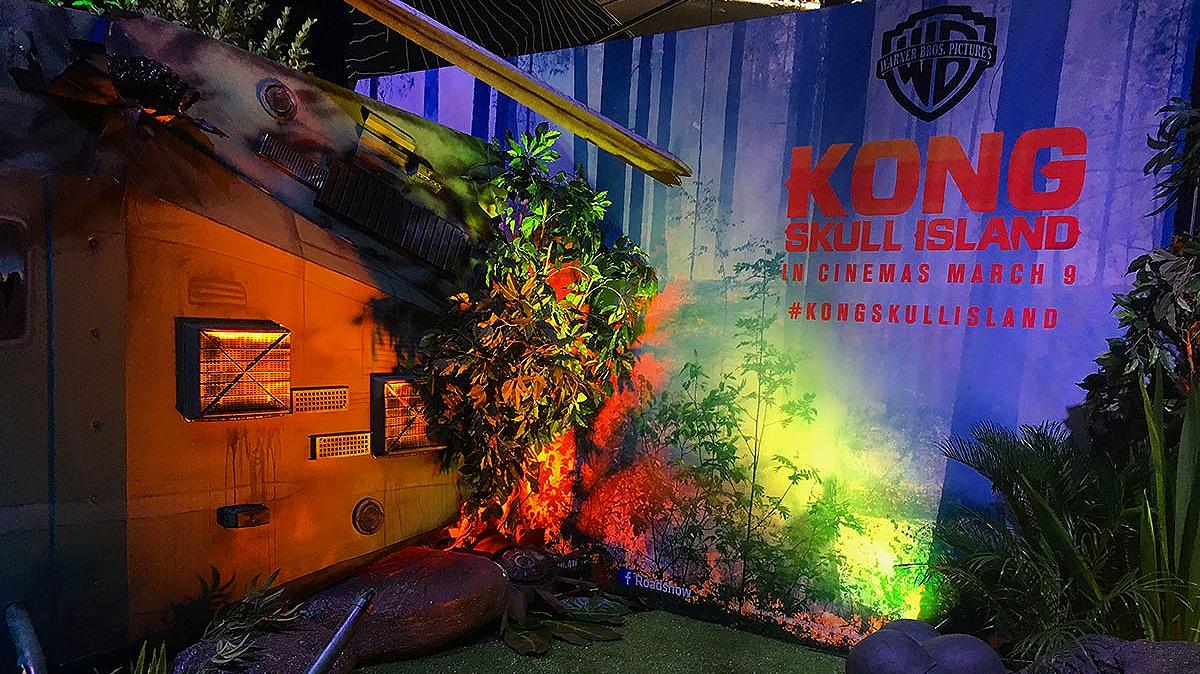 King Kong, Secret of Skull Island - Movie launch