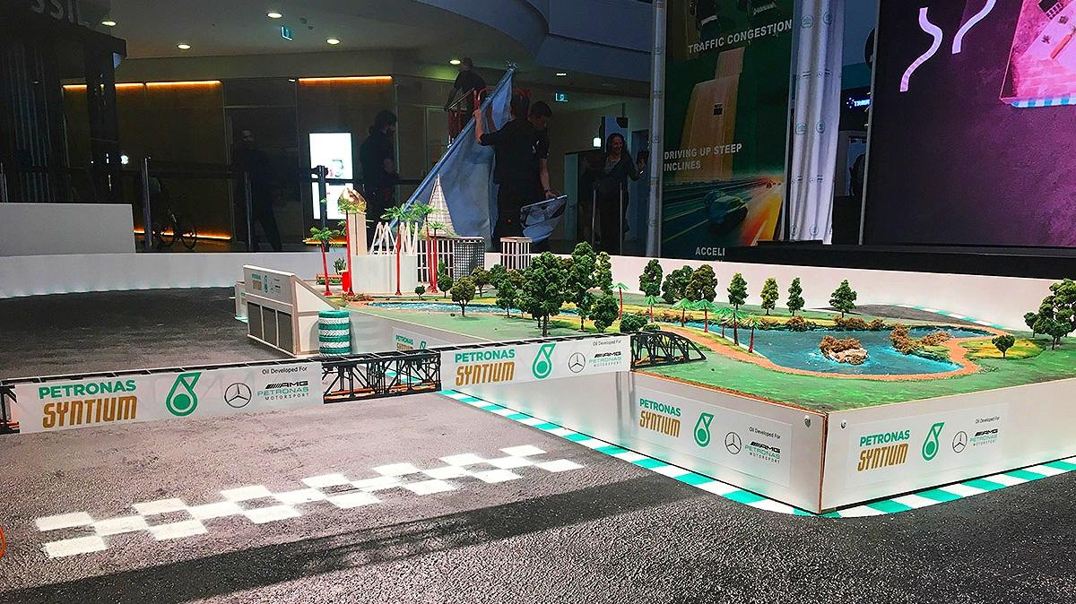 Petronas launch event