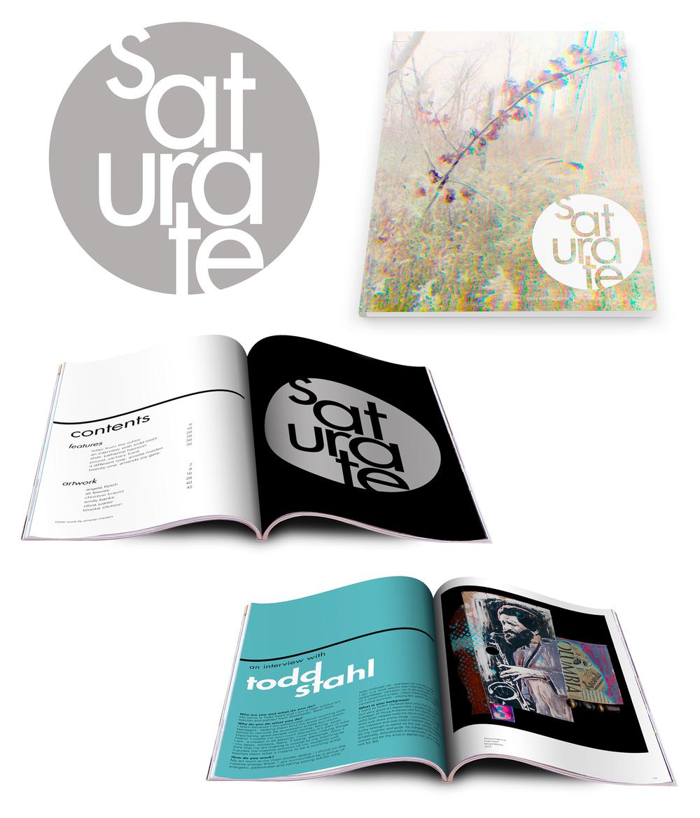 Creative arts magazine based in the Rochester region; senior thesis 2014-2015