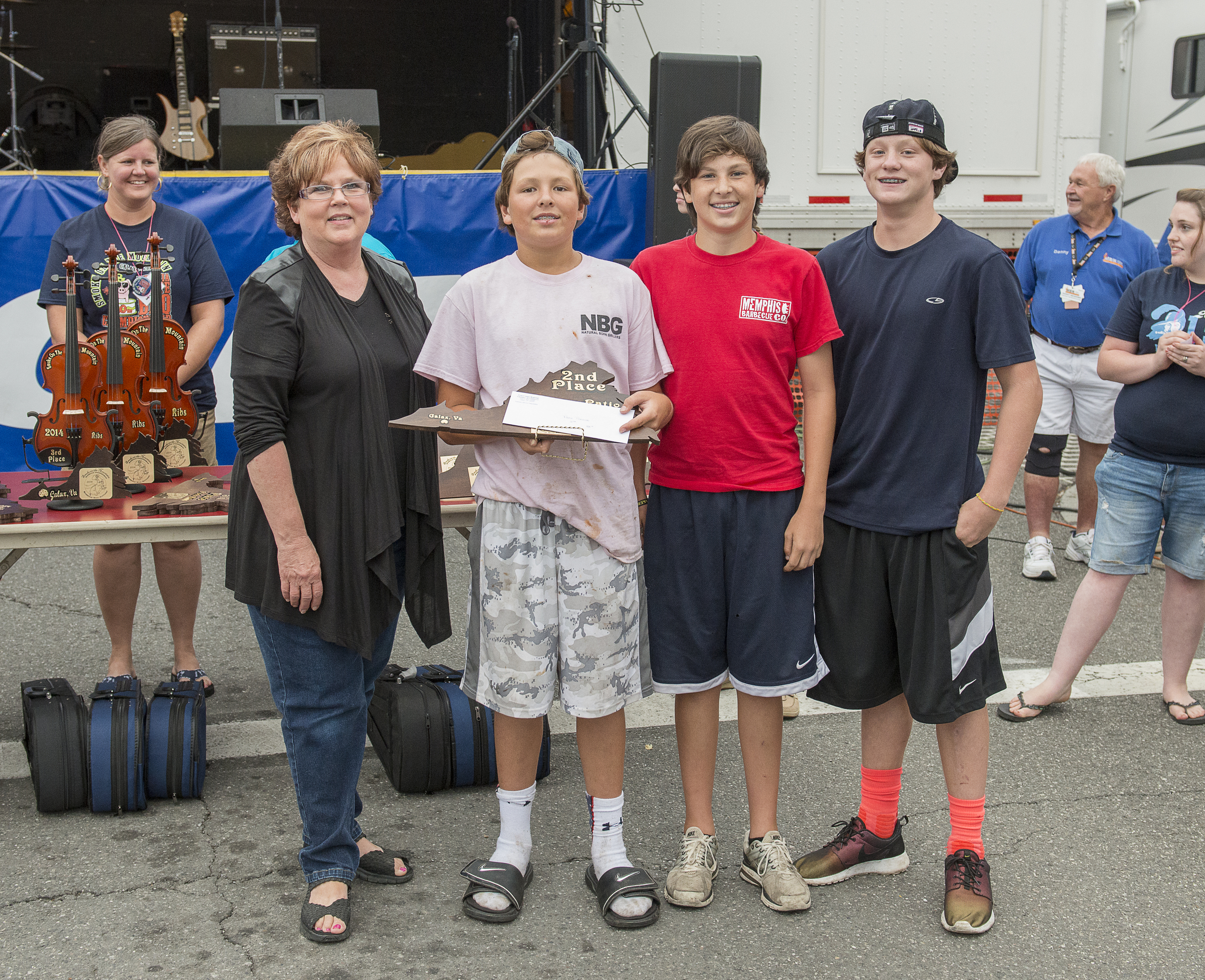 2nd Place New Que on the Block  Photo Courtesy of Larry Ohrberg