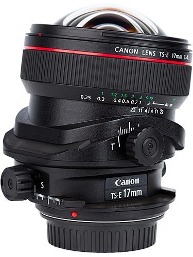 Canon 17mm TS-E f/4.0 L (photo credit: Canon.com)