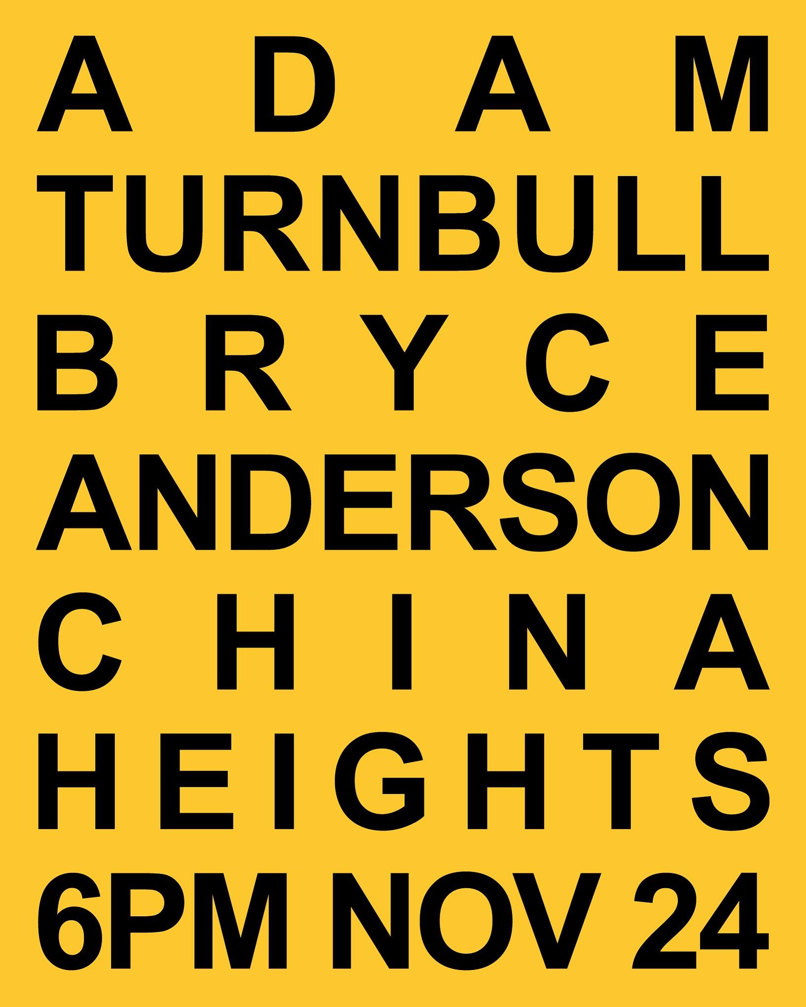 ADAM TURNBULL_BRYCE ANDERSON_CHINA HEIHTS