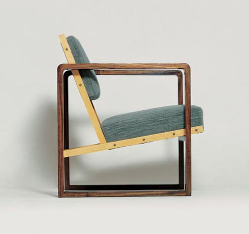 Josef Albers, Armchair for Hans Ludwig and Marguerite Oeser