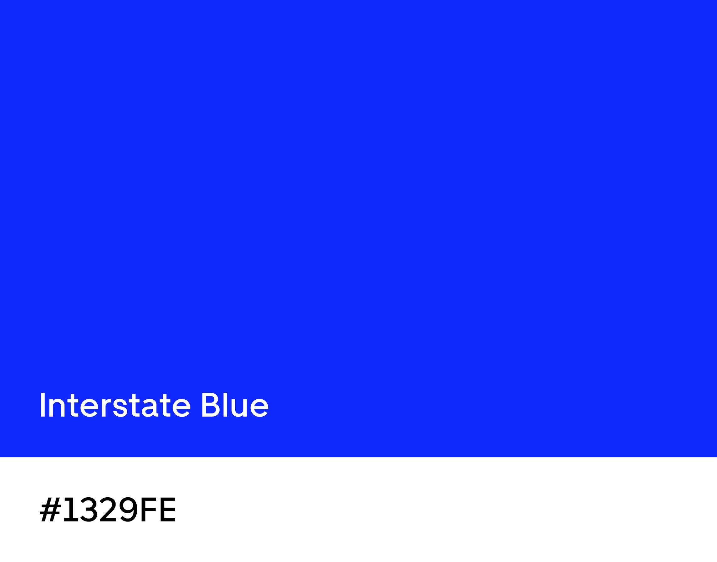 Working with Wolff Olins, we explored every possible color. We came back to blue, taking our inspiration from interstate signs and the connectivity they represent.