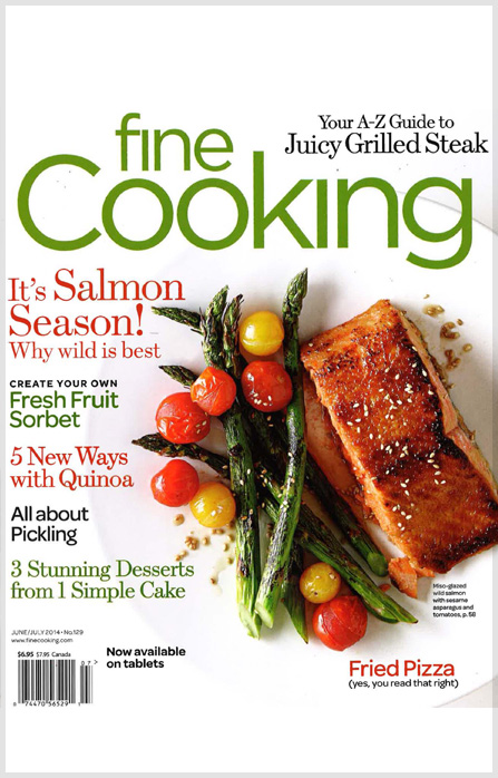 Fine Cooking -   June/July 2014