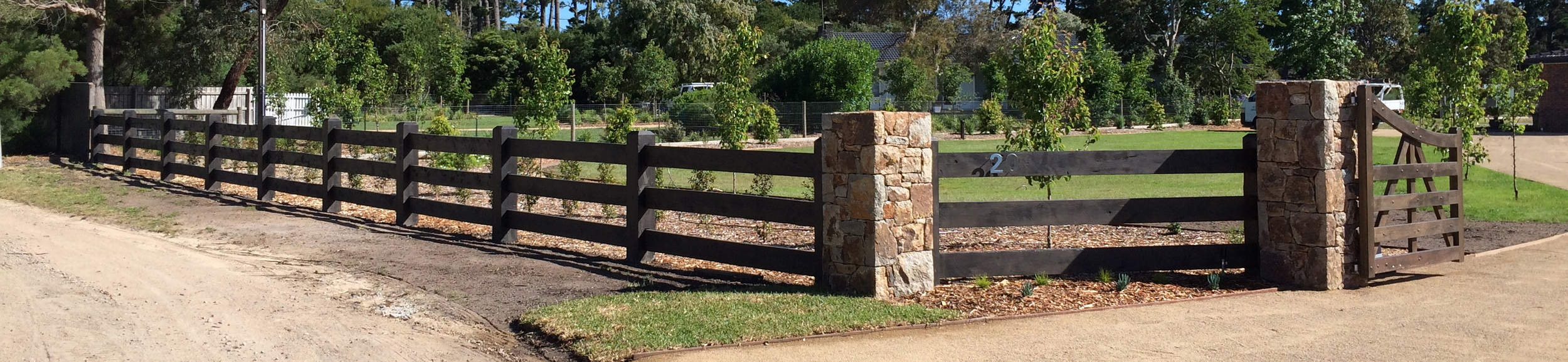 Post and Rail Fencing Melbourne