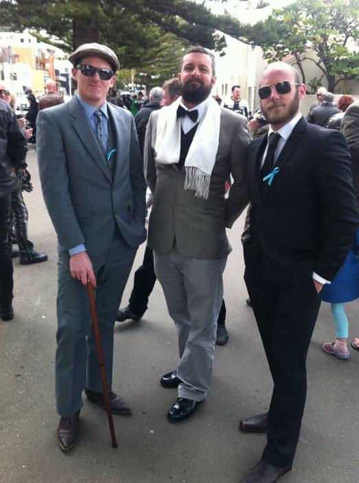 Dapper Gentlemen!