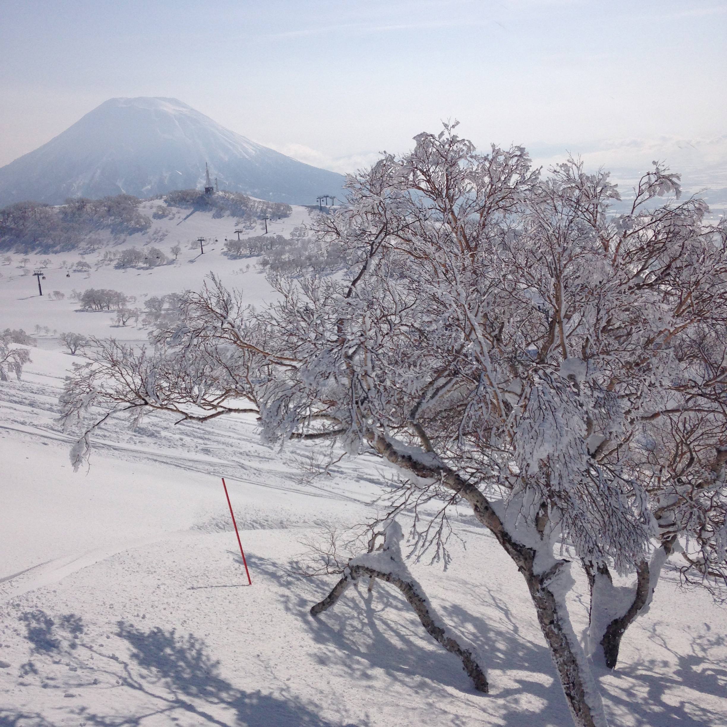 "Mt Yōtei (the ""Mt. Fuji of Hokkaido"")- looking at hiking the summit of him weather permitting!"