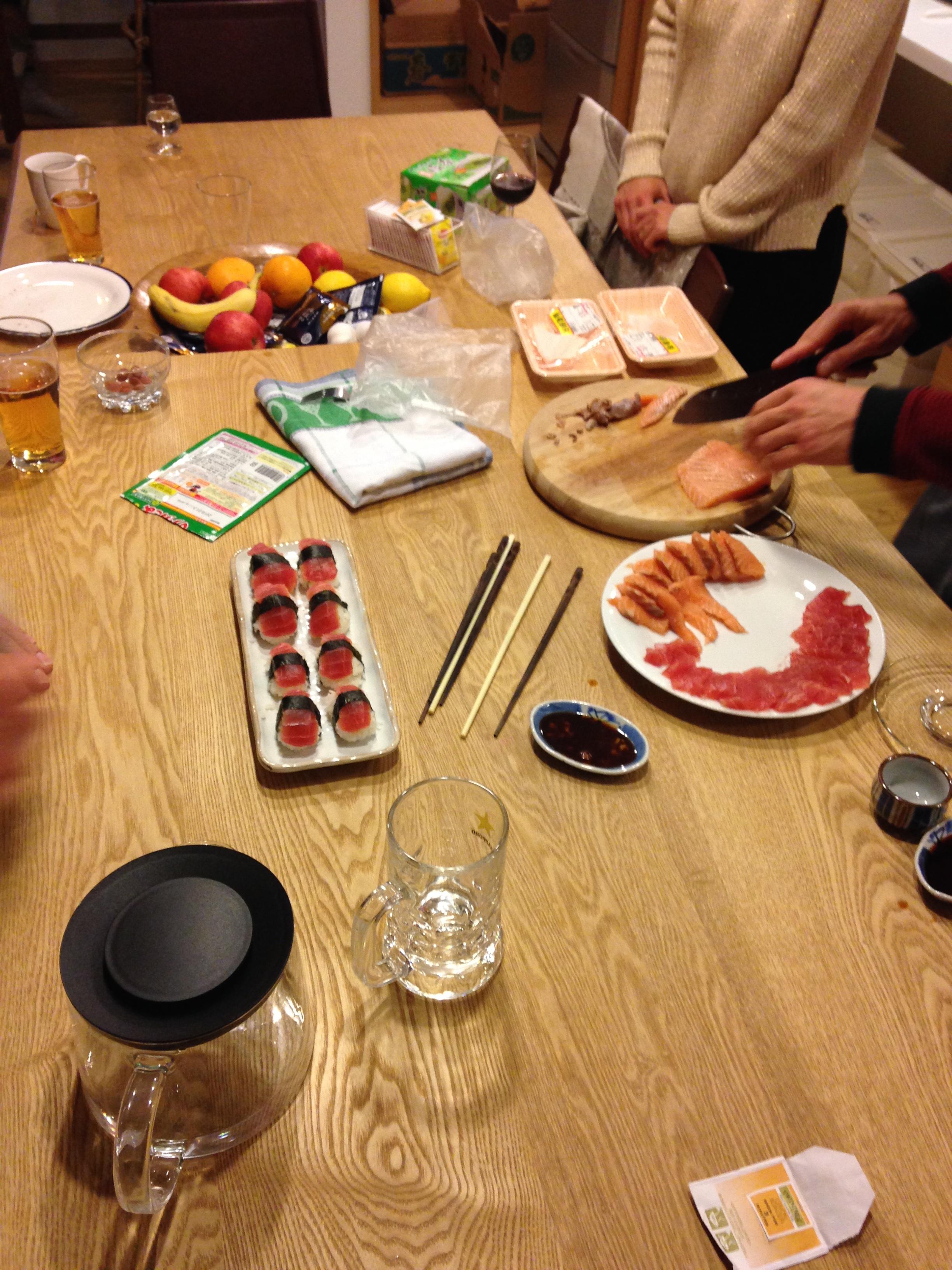 Homemade Sushi Stylin!