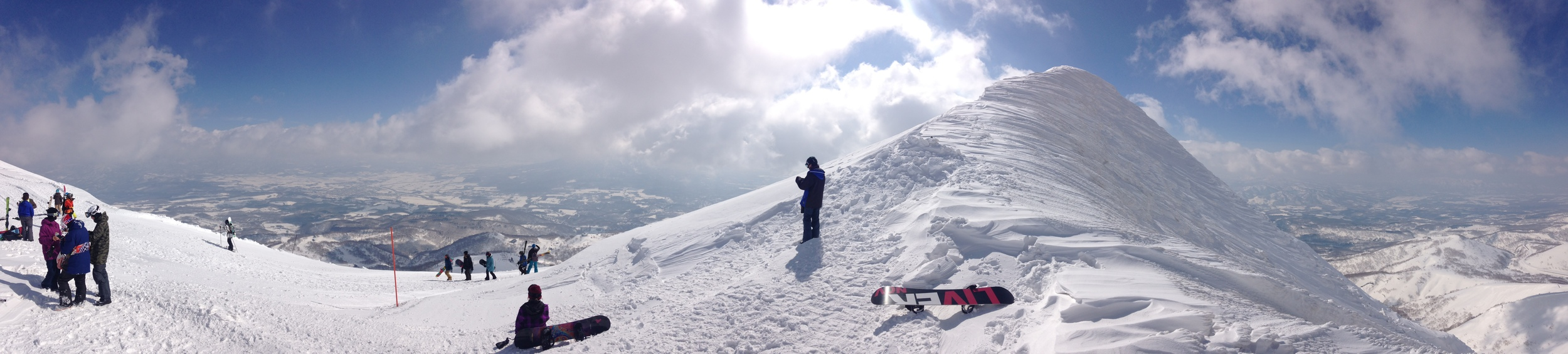 Summit Mt Niseko- An'nupuri