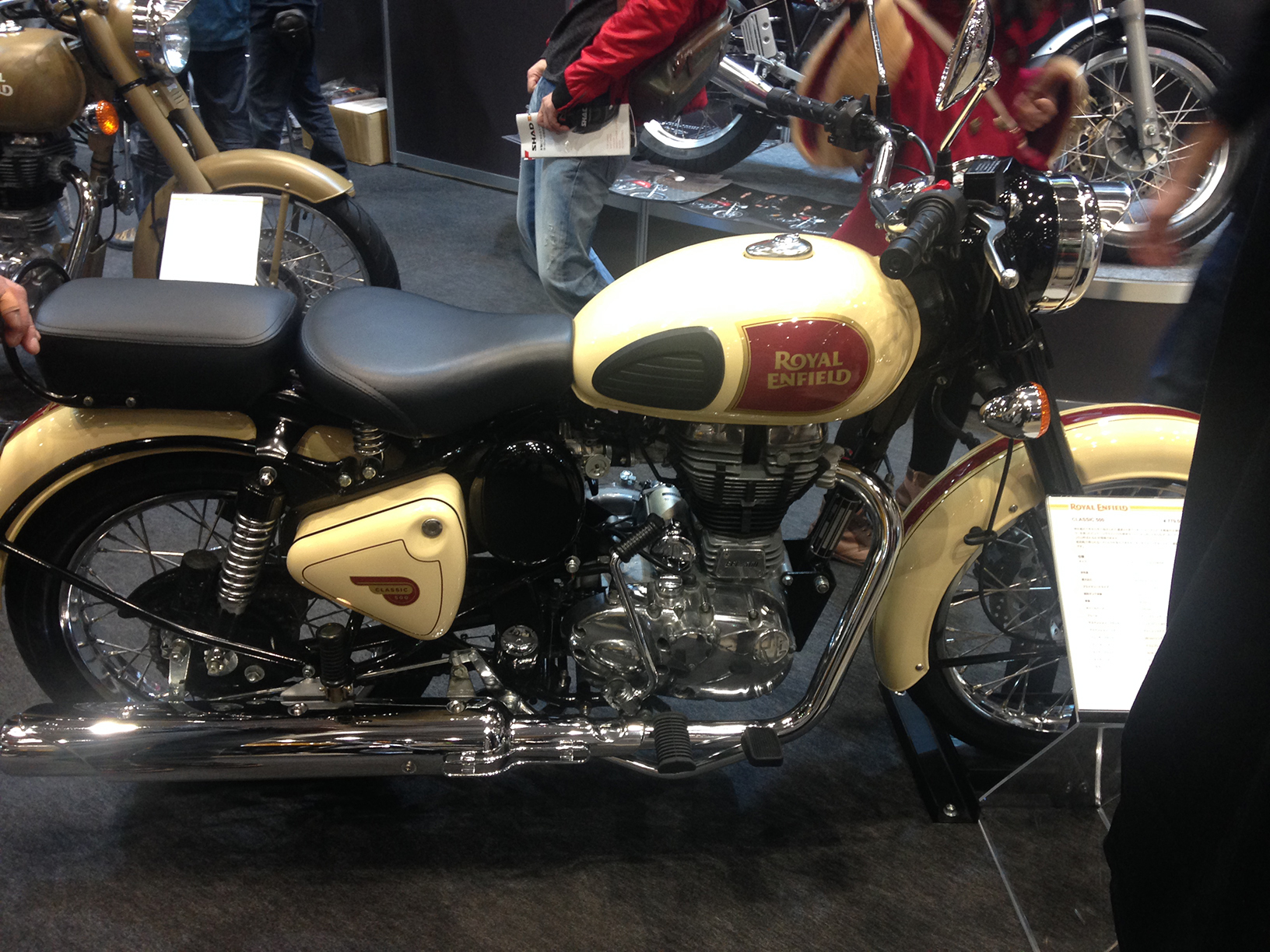 Royal Enfield- classy classic