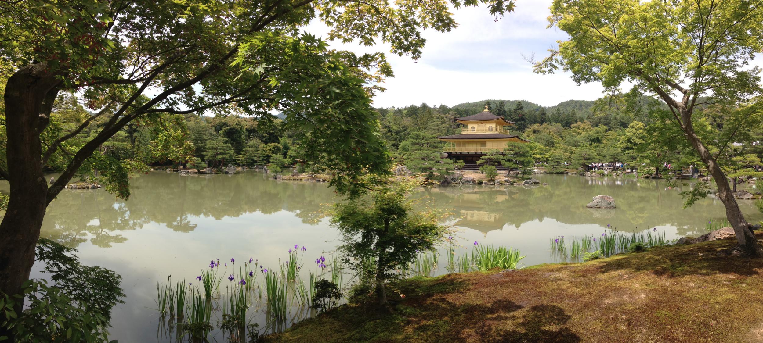 Golden Pavillion- Kyoto