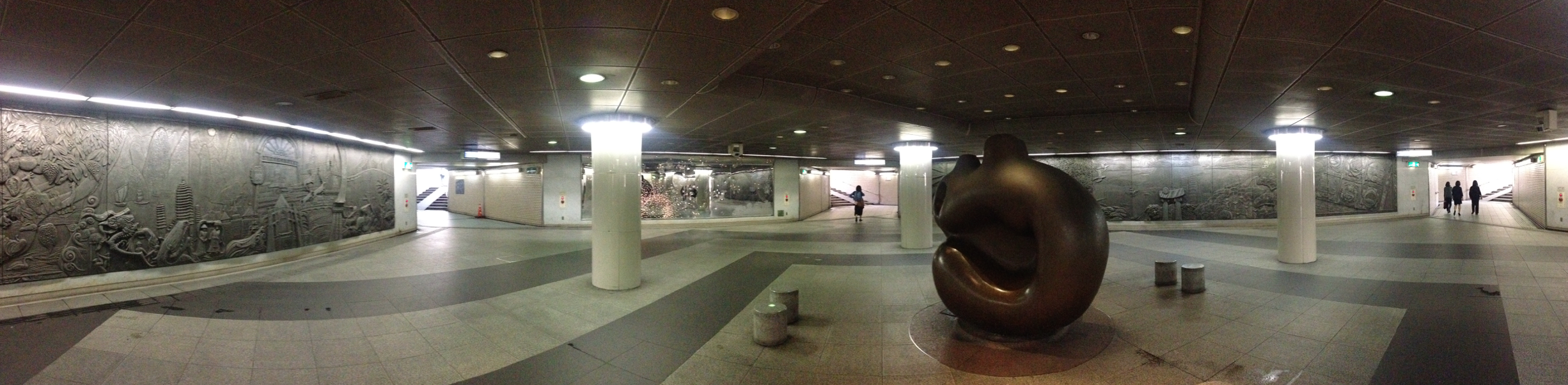 Japan: making under-passes funky since aaaaages ago