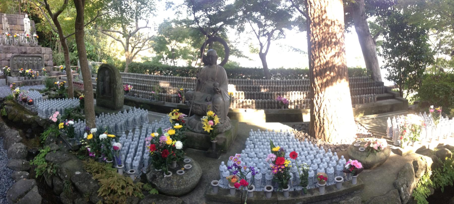 Ojizō-sama statues