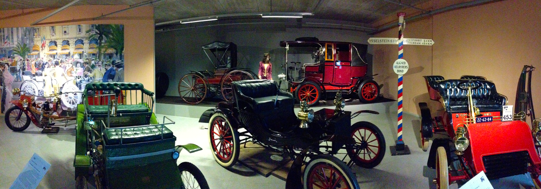 Early 20th Century cars and trikes
