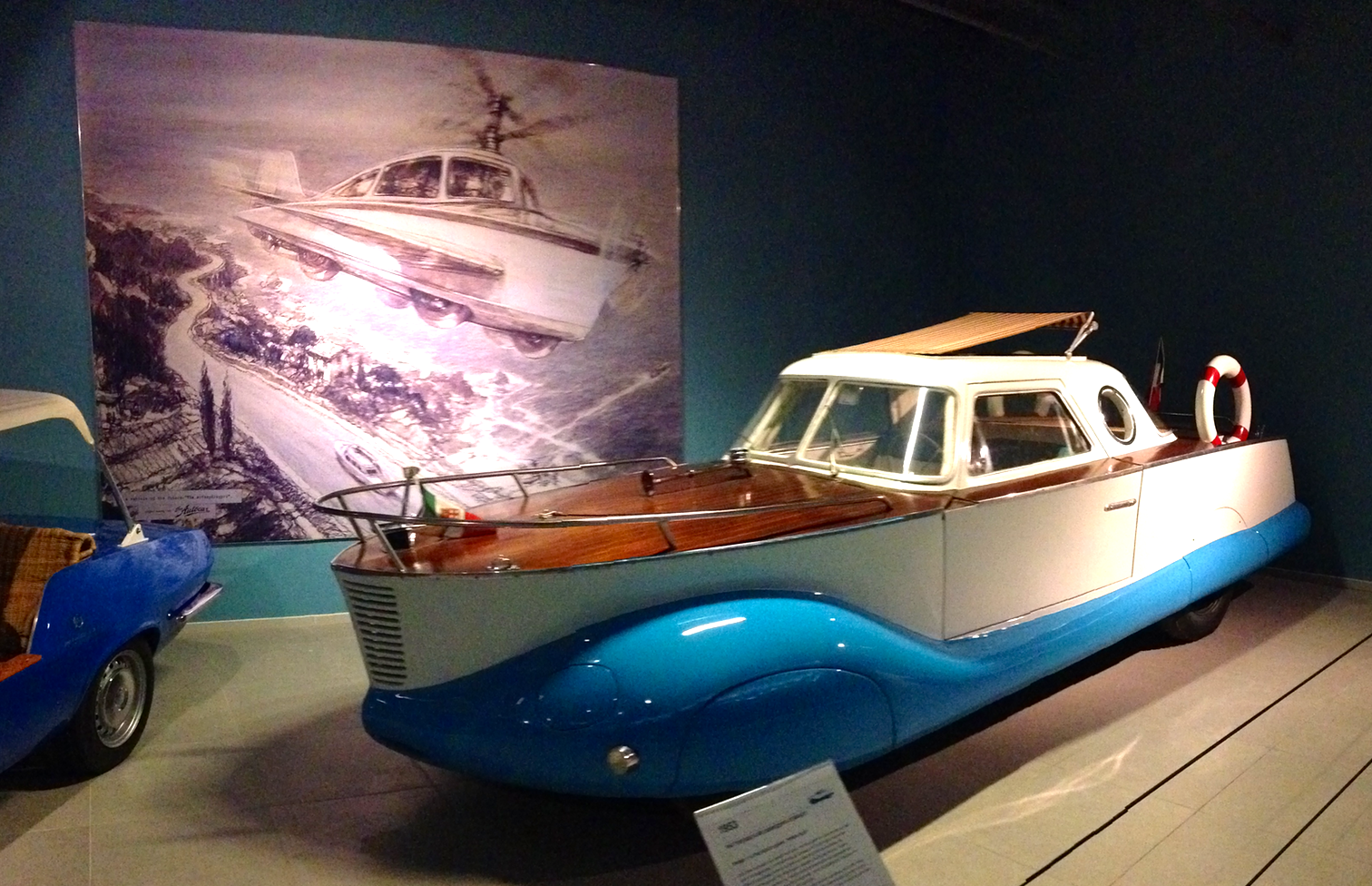 1953 Fiat 1100 Boat-car Carrozzeria Coriasco