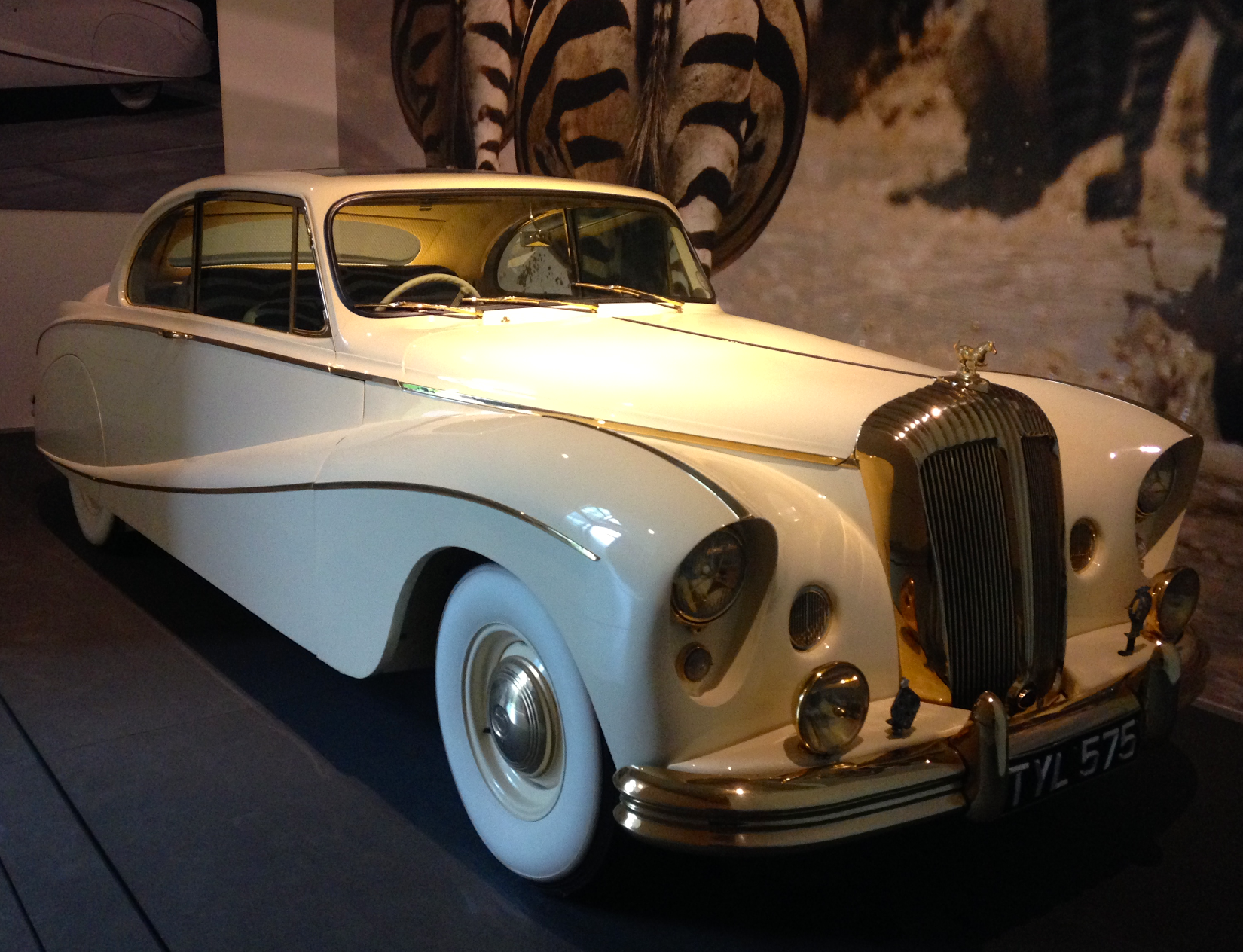 1955 Daimler DK 400 'Golden Zebra' Coupe