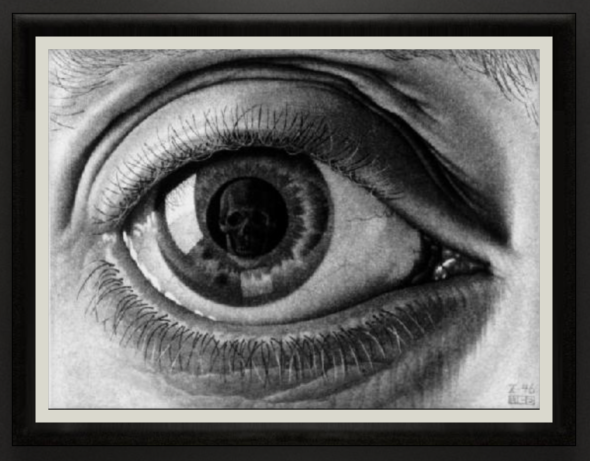 Eye, 1946, Mezzotint, 7th and final stage.