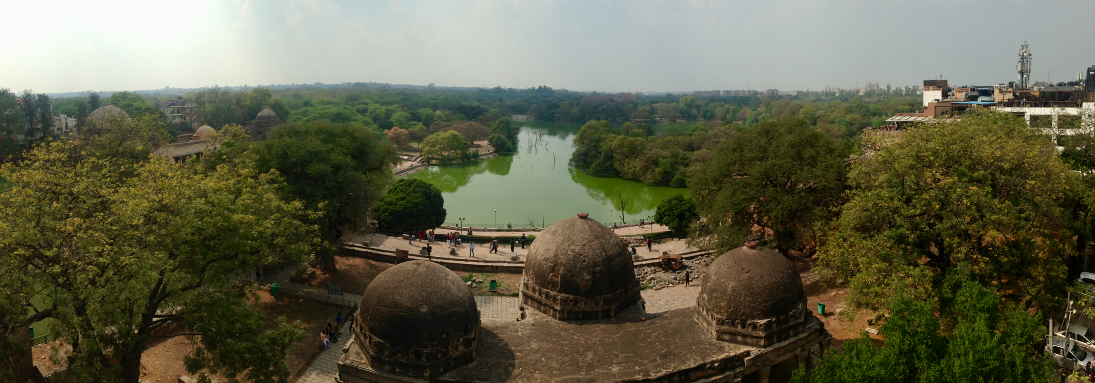 Hauz Khaz- overlooking the deer park
