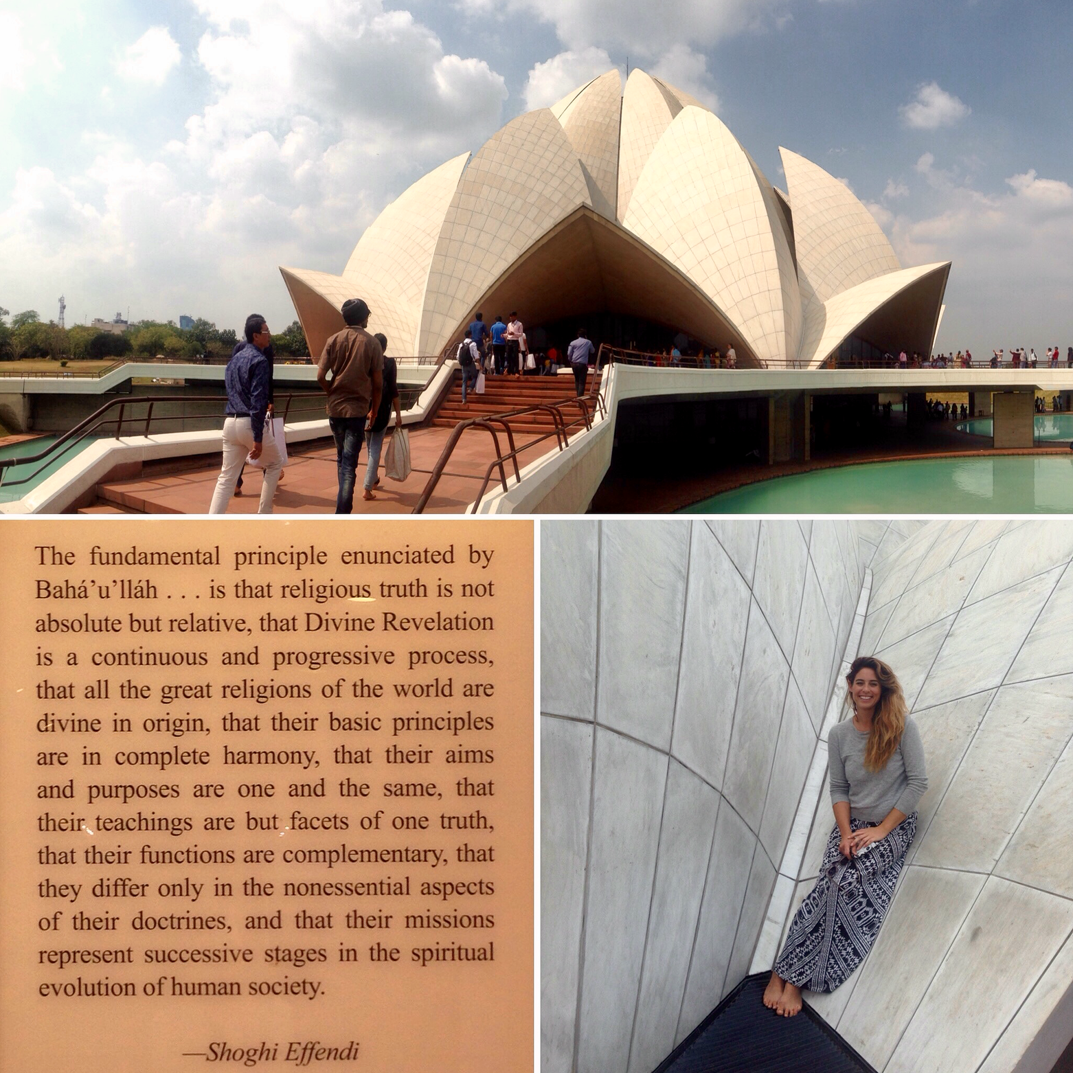 The Lotus Temple- namaste Josh Brown xxx