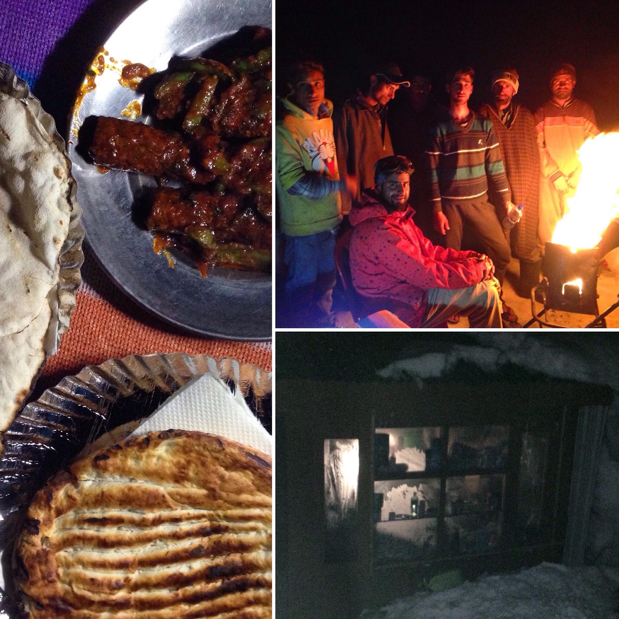 Kashmiri Wazwan by bonfire ^+^