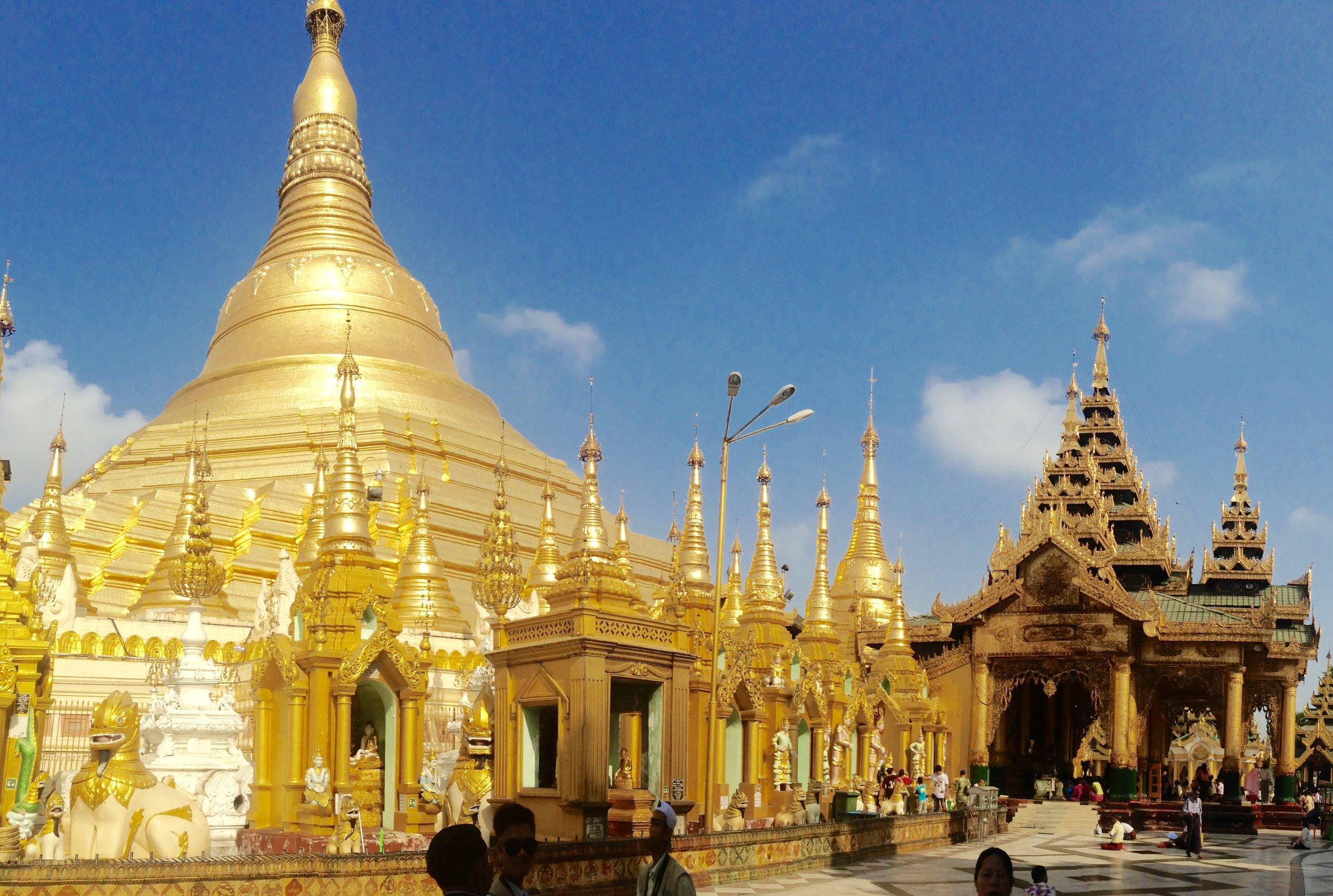 Shwedagon Pagoda- Yangon