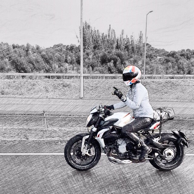 Me & my Mv Agusta Brutale Dragster RR roadtrippin'