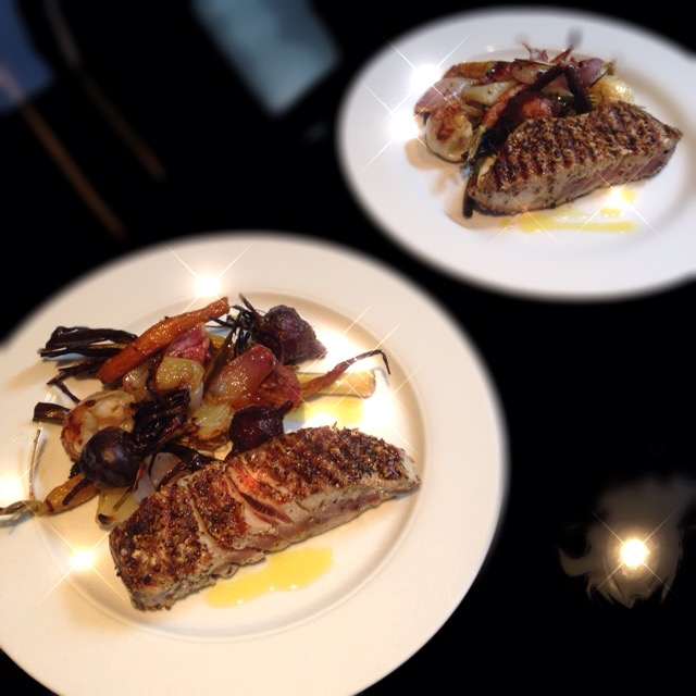 Wairarapa Herb Crusted Tuna Steaks