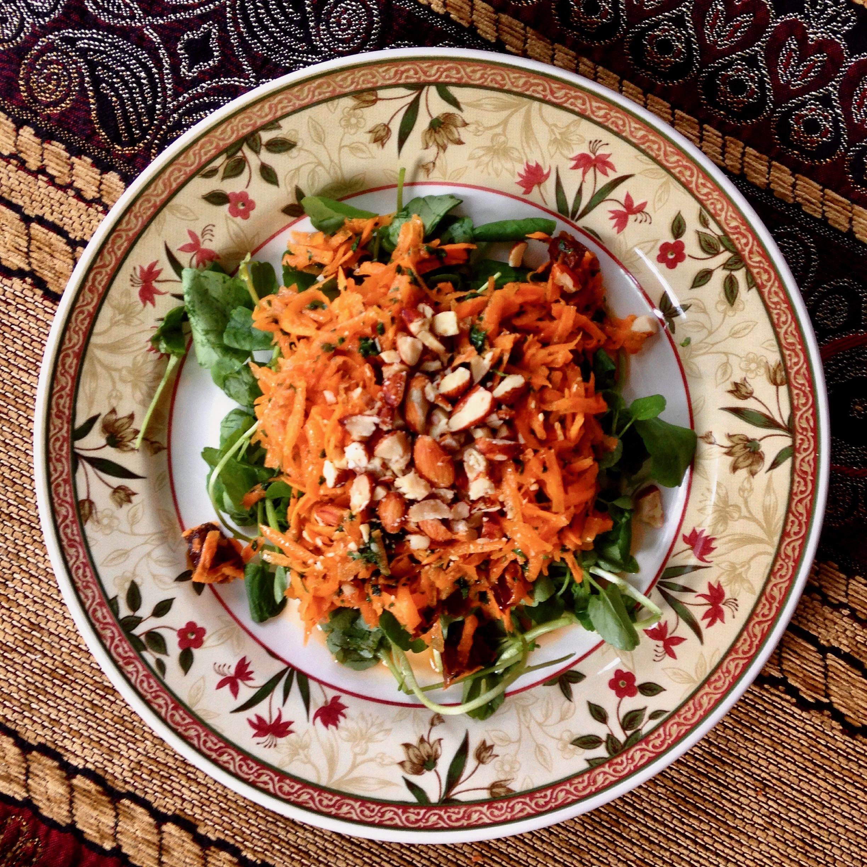 Moroccan Carrot & Date Salad