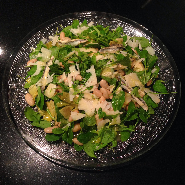 Cannellini Bean & Parmesan Salad
