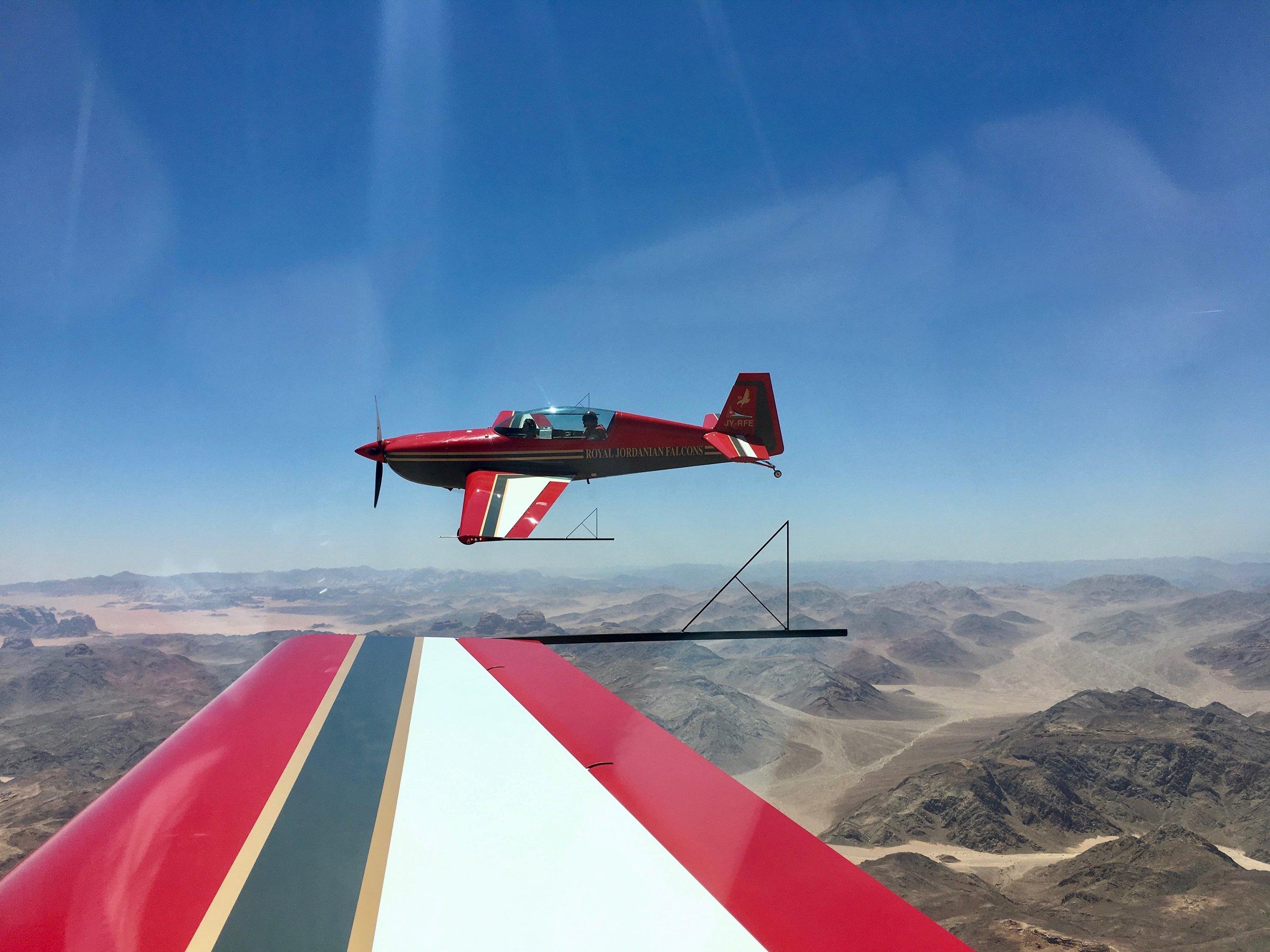 Xtra 300L over Wadi Rum Desert