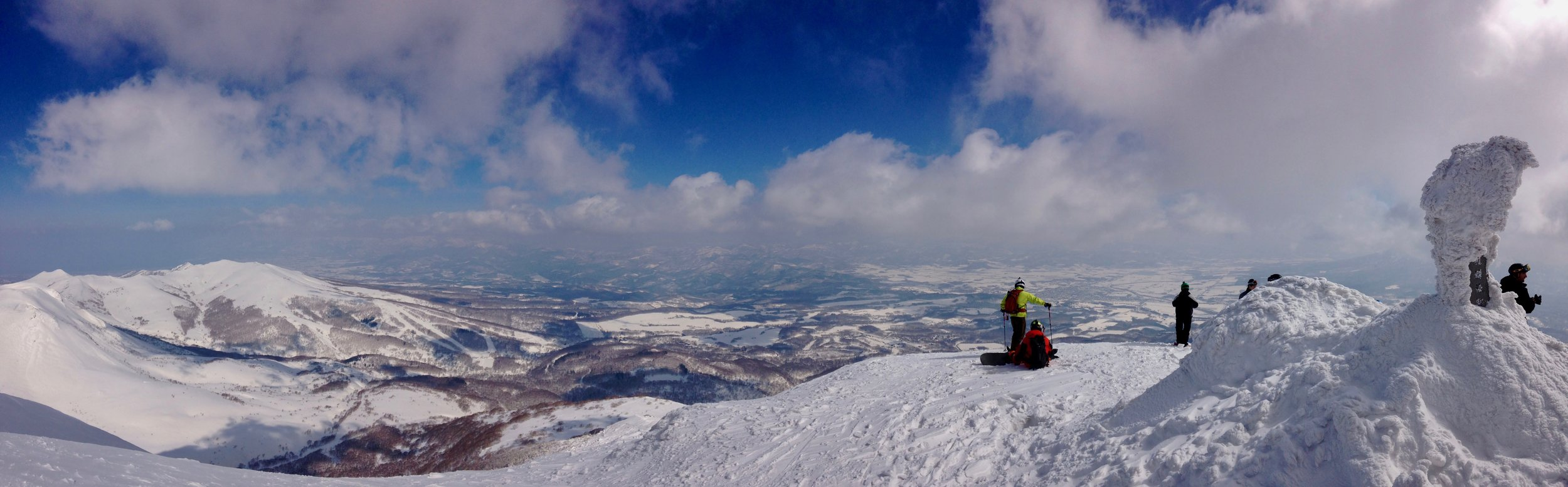 Summit of Mt Niseko Annupuri, Grand Hirafu, Hokkaidō, Japan