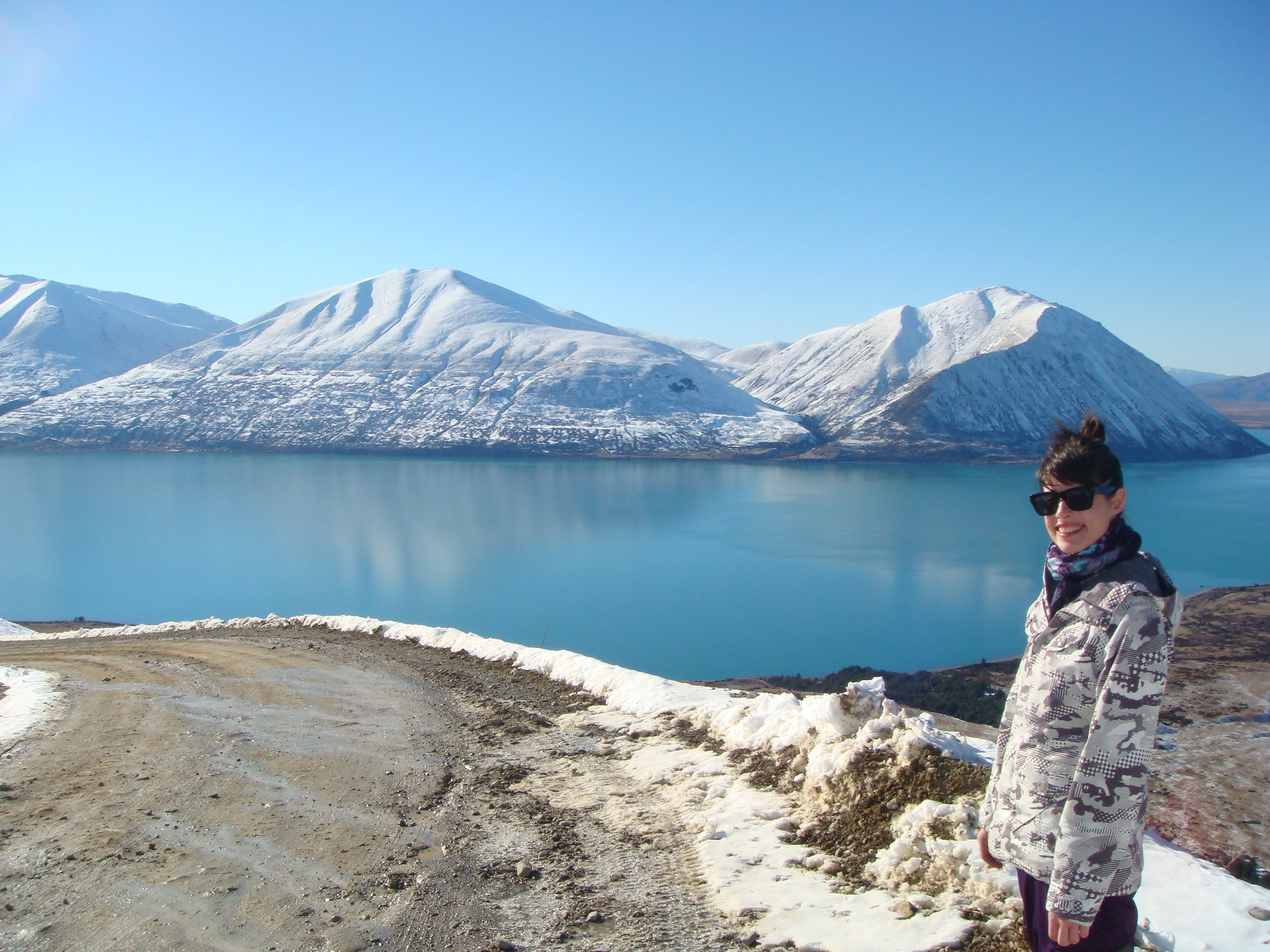 Lake Ohau, Mackenzie Basin, South Island, NZ
