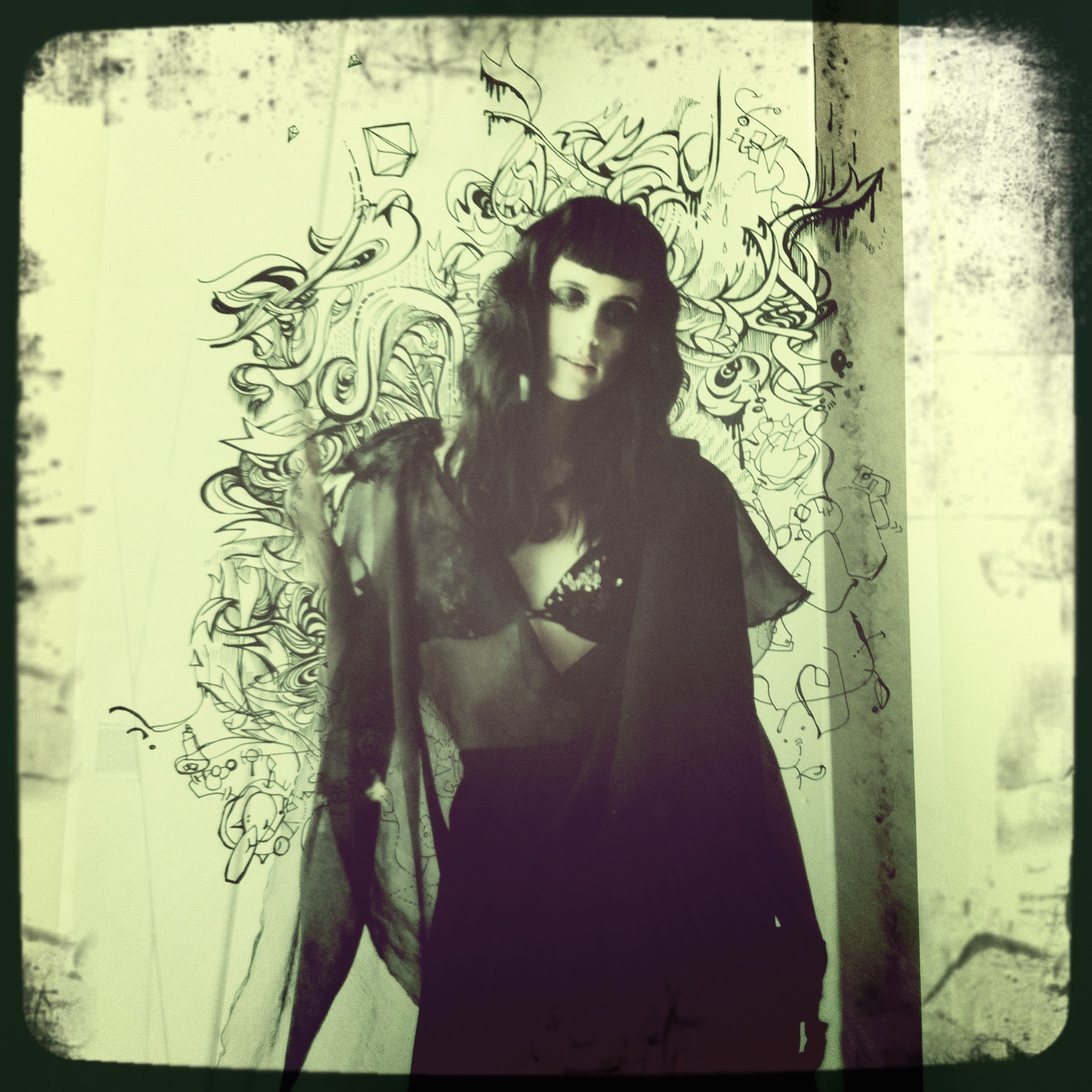 Illustration- Moena Moxham, Photography-  Luke Calder , Hair- Bex Brent/  Willis York , Stylist- Alex Boyd