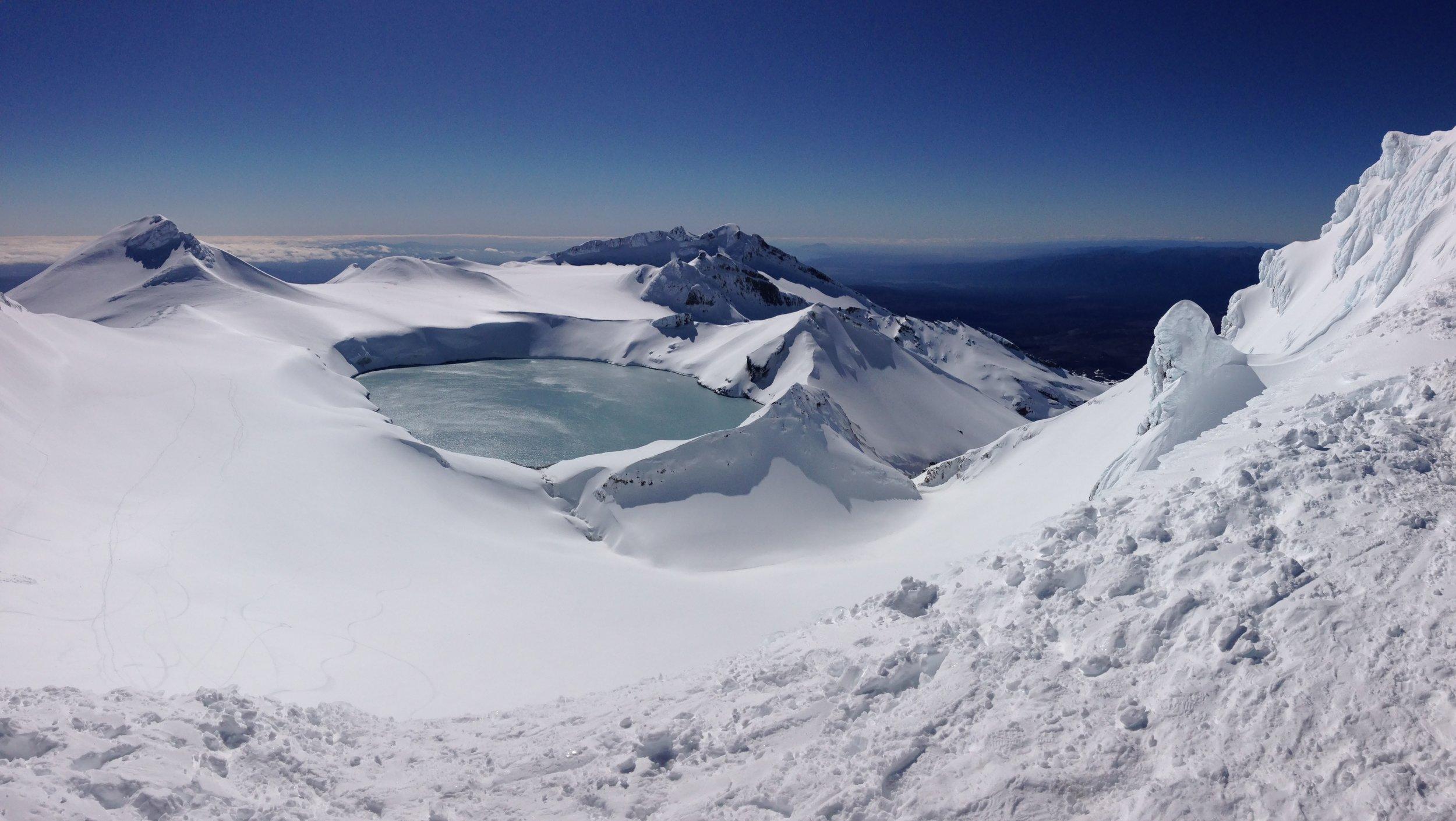 Summit Mt Ruapehu, National Park, NZ