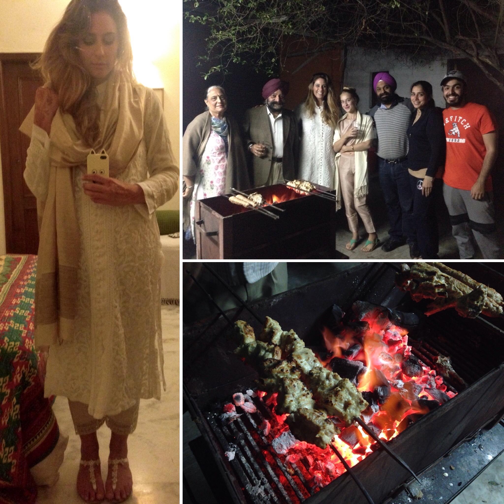 My friends from Prem Silk Shop, New Delhi, India
