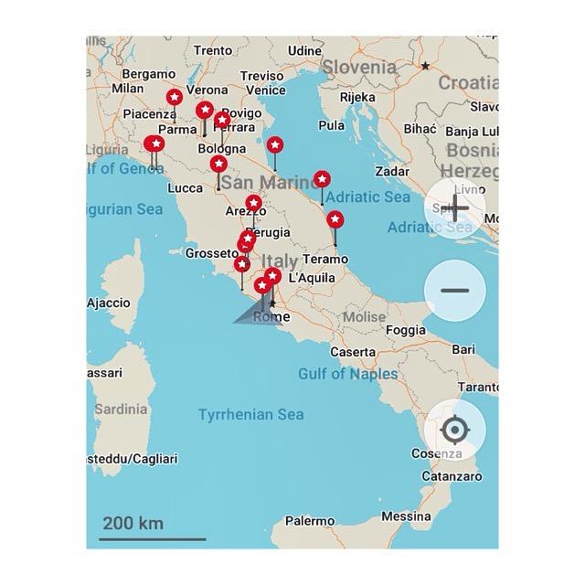 The Italian Job Road Trip