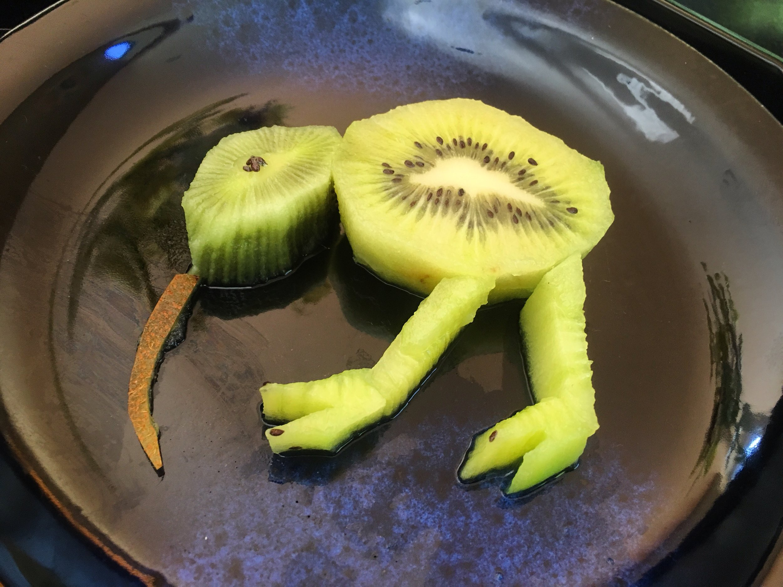 'Philbert The Flat-footed Kiwi'