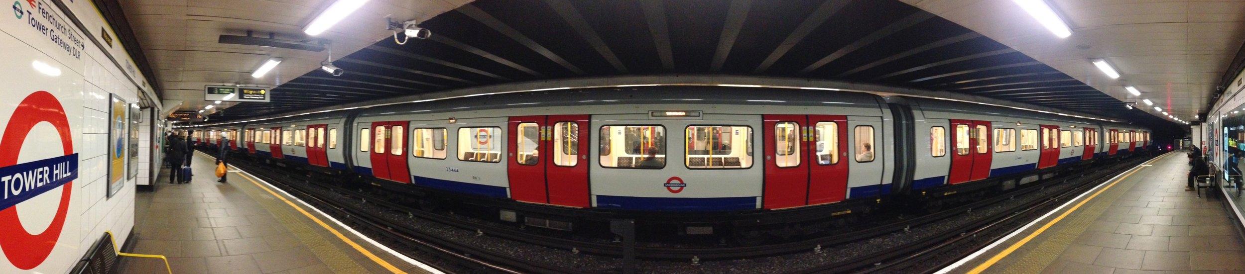 'Mind The Gap Please', London