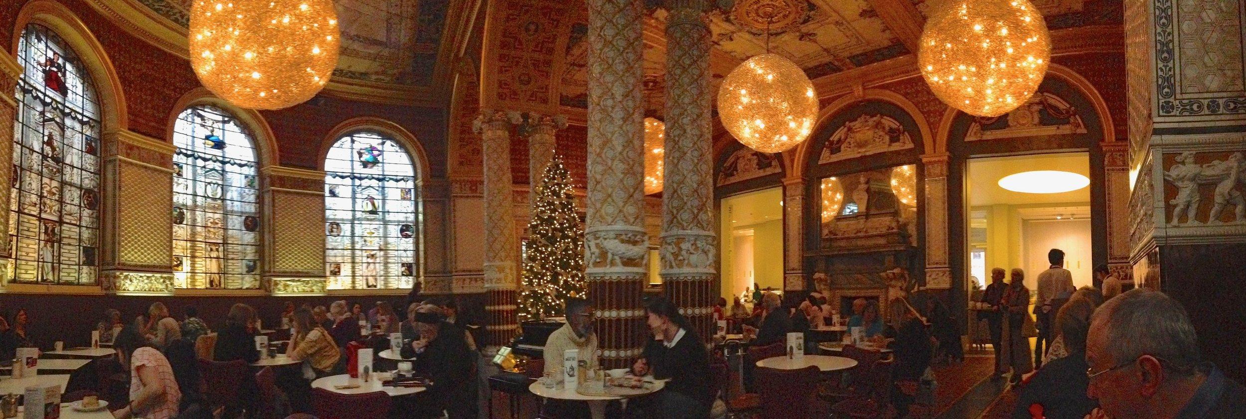 The Victorian & Albert Tearooms, London