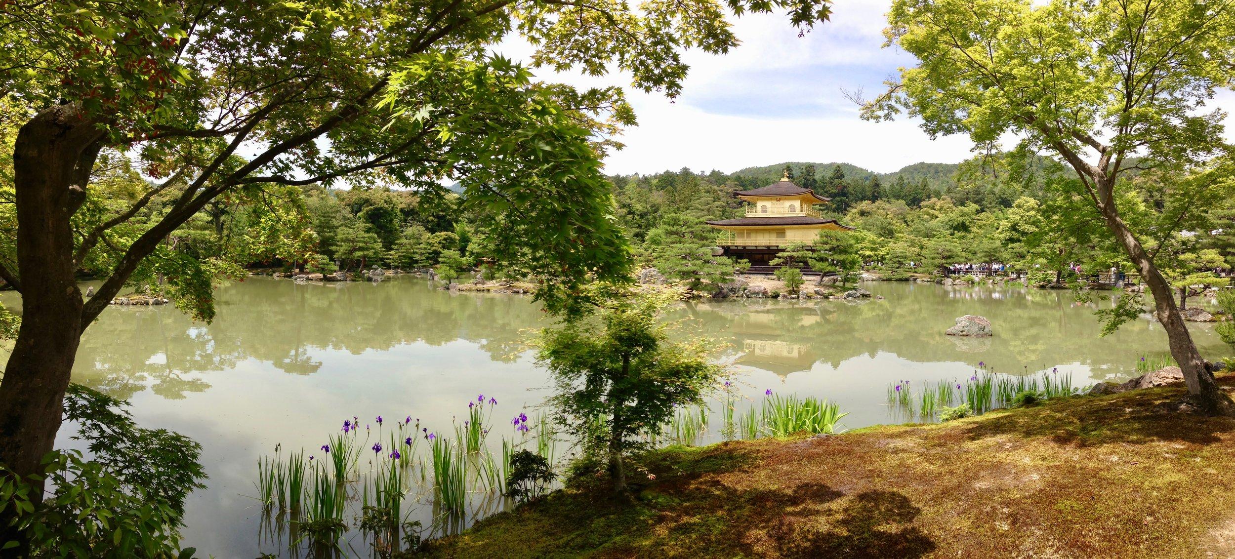 The Golden Pagoda, Kyoto, Japan
