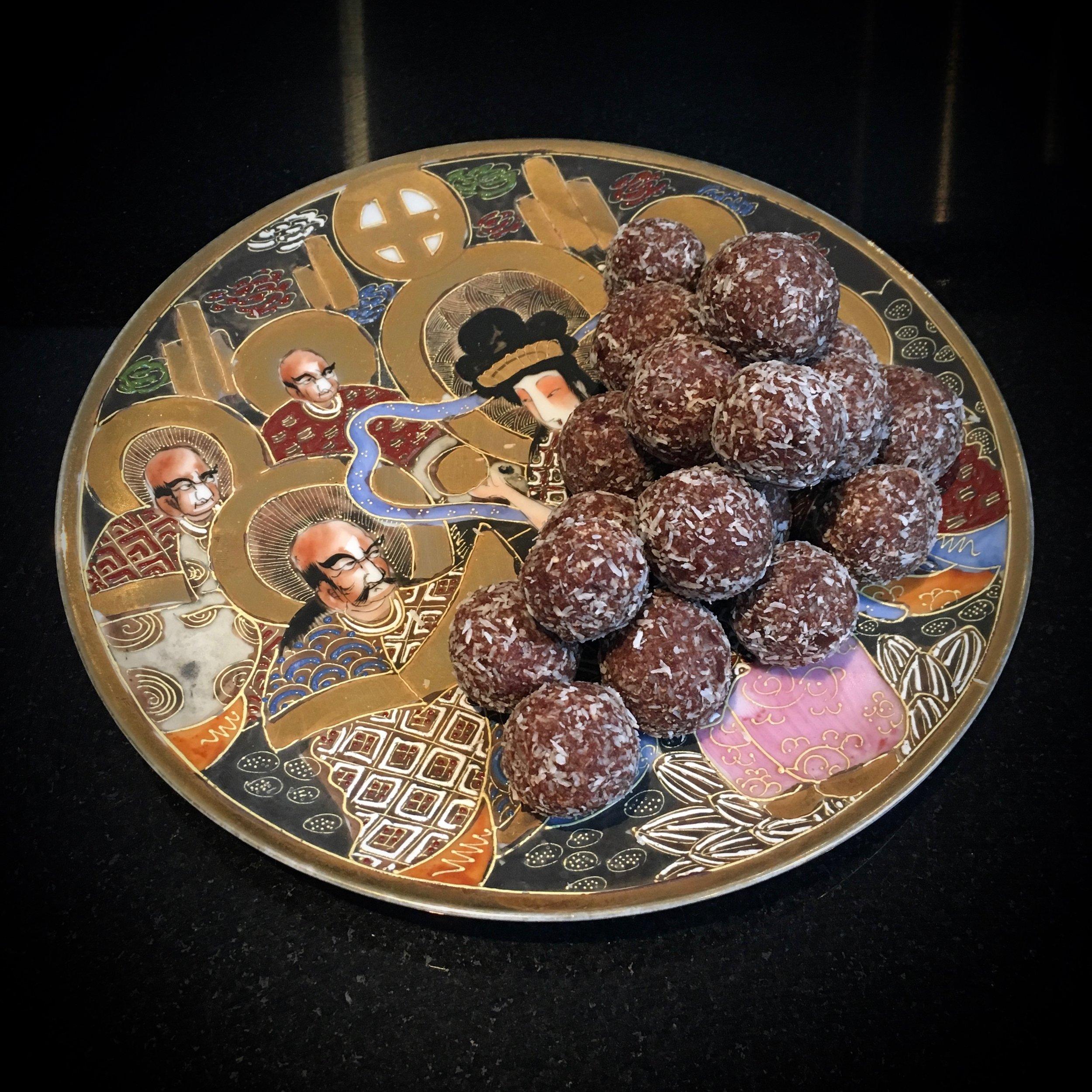 Date & Dutch Chocolate Bliss Balls