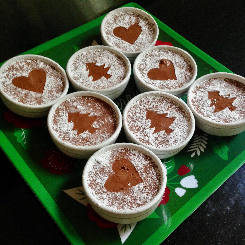 Mid Winter Dutch Chocolate Mousses