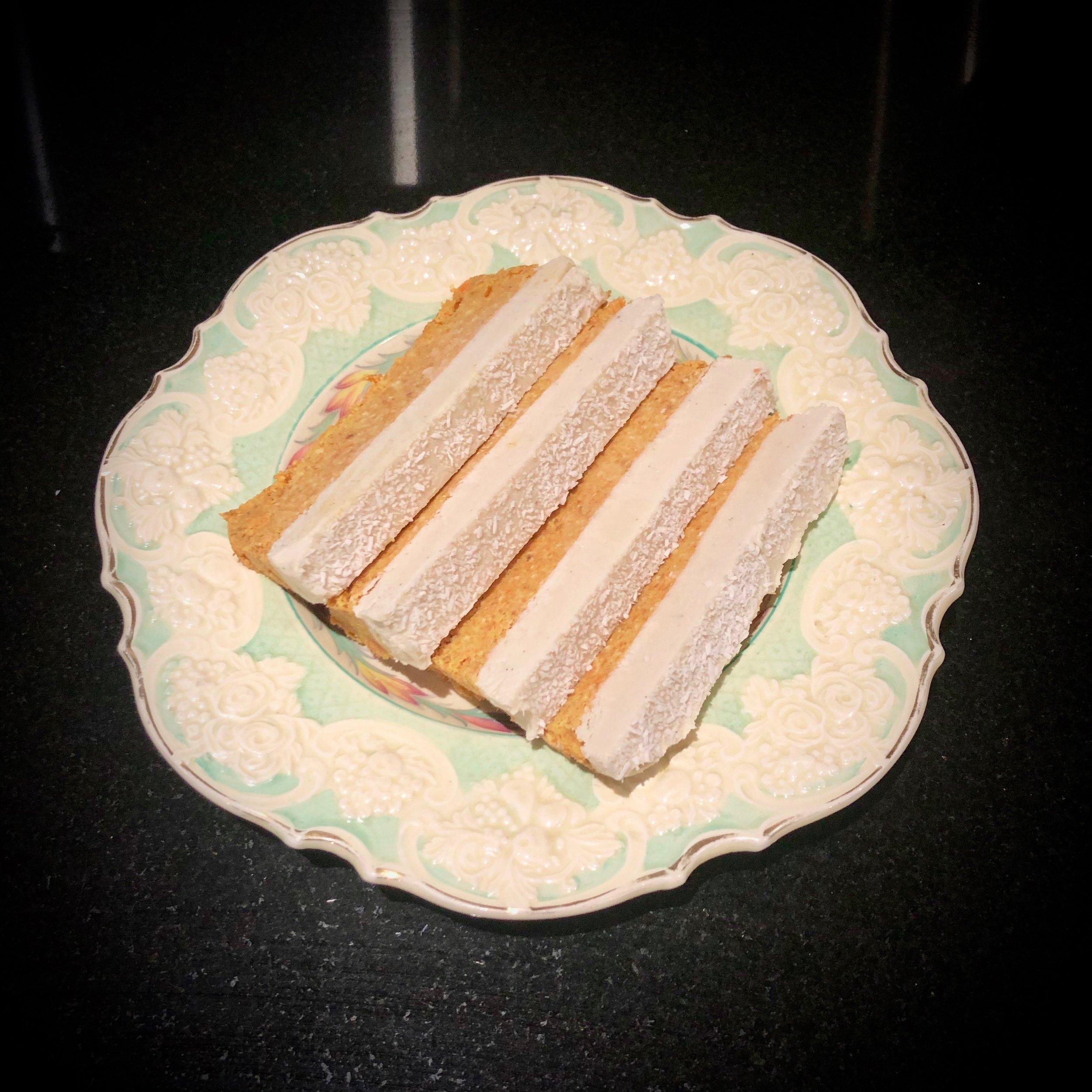 Raw Cashew Carrot Cake