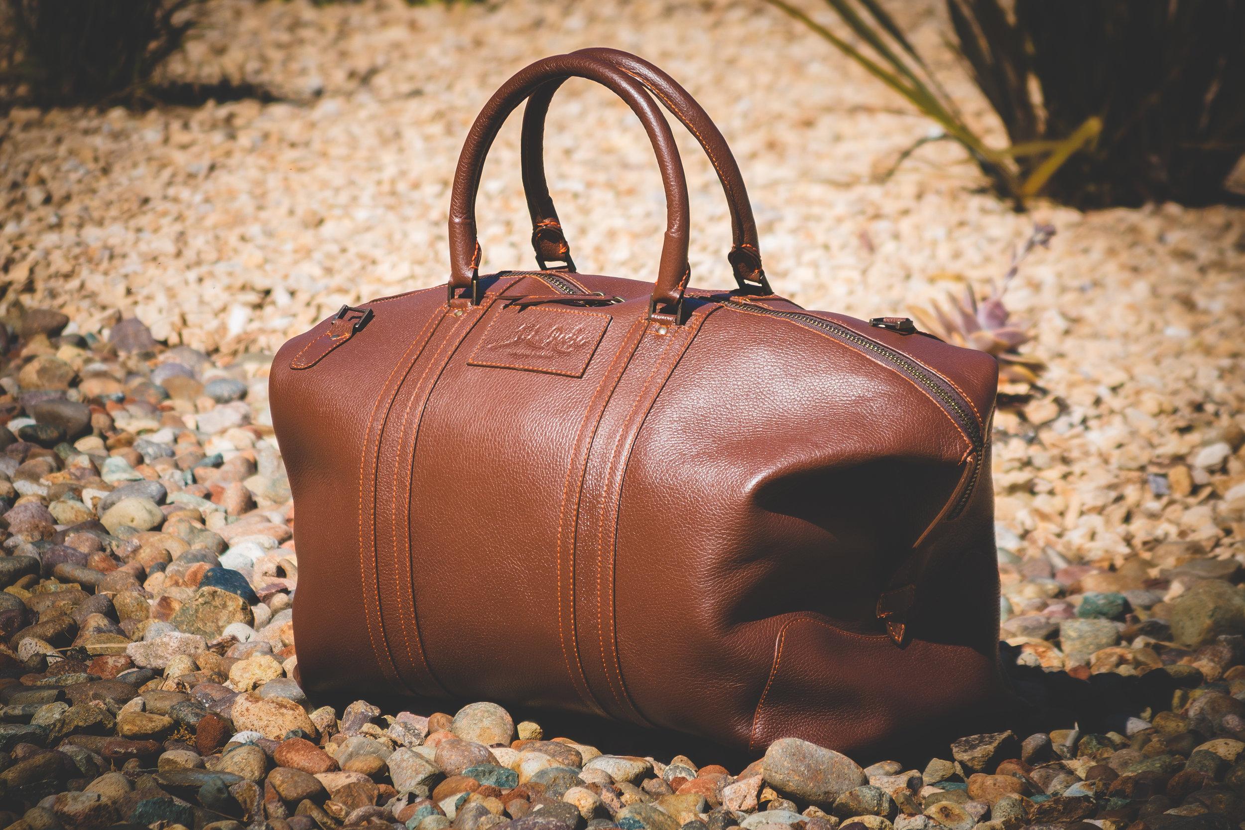 Miguel weekend bag in honey