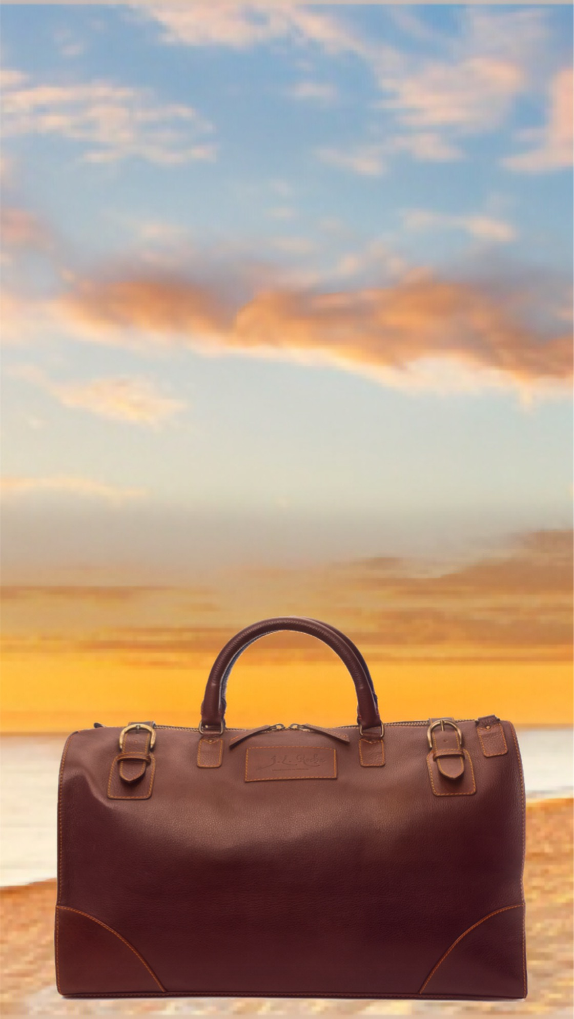 The Miguel Travel Bag - The perfect way to start and end any trip. You may go far and wide but you know that what matters most anywhere is reliability and durability. Everything you need will stylish and safe when it's nestled in this pebble grain companion.