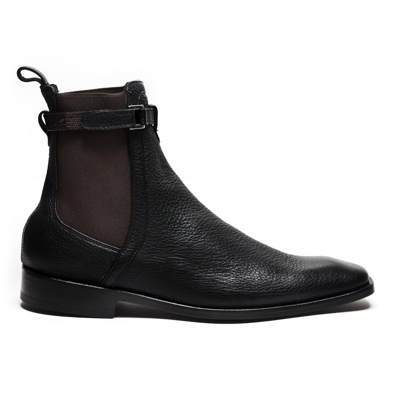 Black Grasso Chelsea Boots [$395]